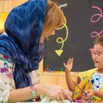مربی پرورش خلاقیت در کودکان