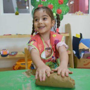 مجسمه سازی در مهد کودک
