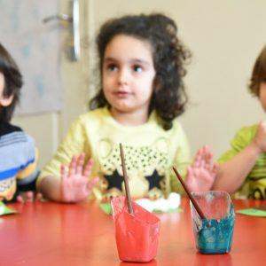 فعالیت های کلاسی مهد کودک