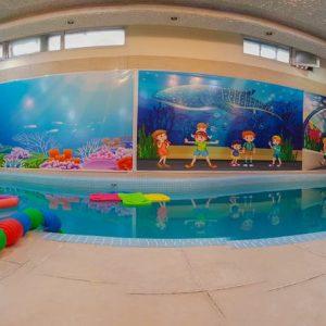 کلاس شنا در مهد کودک